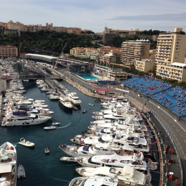 Monaco Marina and Swimming Pool